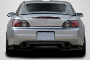 Carbon Creations Vt Rear Diffuser 1 Piece For 2000 2009 Honda S2000