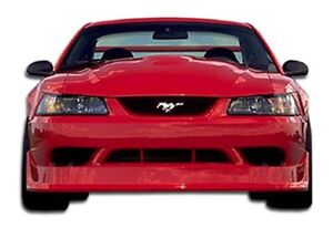 Duraflex Cobra R Front Bumper Cover 1 Piece For 1999 2004 Ford Mustang