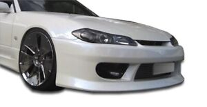 Duraflex V Speed Front Bumper Cover 1 Piece For 1999 2002 Nissan Silvia S15