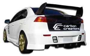 Duraflex Gt Concept Rear Bumper For 2008 2015 Lancer Evolution 10