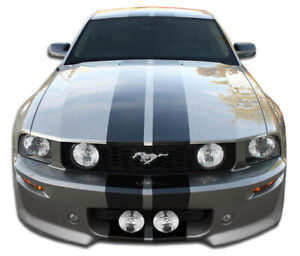Duraflex Eleanor Front Bumper Cover 1 Piece For 2005 2009 Ford Mustang