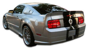 Duraflex Cvx Rear Lip Under Spoiler Air Dam 1 Piece For 2005 2009 Ford Mustang