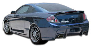 Duraflex Spec R Rear Bumper Cover 1 Piece For 2007 2008 Hyundai Tiburon