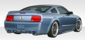 Duraflex Circuit Rear Bumper Cover 1 Piece For 2005 2009 Ford Mustang