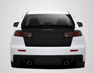 Carbon Creations Gt Concept Trunk For 08 17 Mitsubishi Lancer Evolution 10