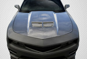 Carbon Creations Stingray Z Look Hood 1 Piece For 2010 2015 Camaro