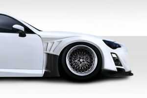 Duraflex Vr S Wide Body Front Fenders 4 Piece For 2013 2016 Fr S