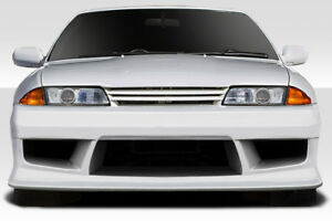 Duraflex V speed Front Bumper For 1989 1994 Nissan Skyline R32 2dr 4dr