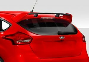 2016 2017 Ford Focus Hb Duraflex Rs Look Wing Spoiler 1 Piece Body Kit