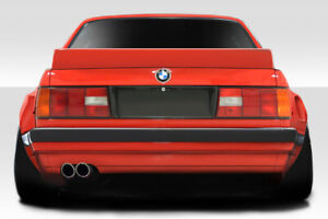 Duraflex Tko Rear Wing Spoiler 1 Piece For 1984 1991 Bmw 3 Series E30