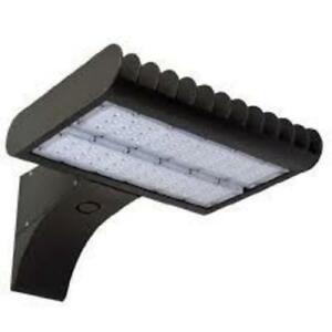 100 Watt Led Parking Lot Flood Light With Slipfitter Or Trunion Mount Option