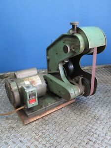 3 4 Hp Burr King Model 562 Bench Top 1 X 42 Sander Grinder f 07