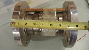 316 Stainless Steel Flex 3 x 8 Long Pipe Expansion Joint Fitting 4 Bolt