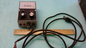 Used Minark Dc Motor Speed Control Part Model Sl10