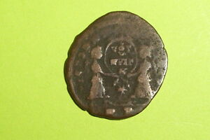 Magnentius 350 Ad 353 Ad Ancient Roman Coin Angels Victories Shield Old G Good