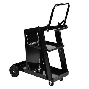 Kuppet Welder Welding Cart Plasma Cutter Mig Tig Arc Universal Storage For Tanks