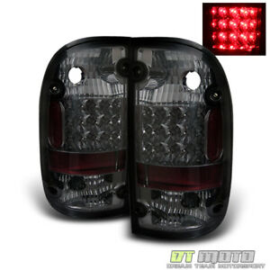 For Smoked 2001 2004 Toyota Tacoma Pickup Led Tail Lights Lamps 01 04 Left Right