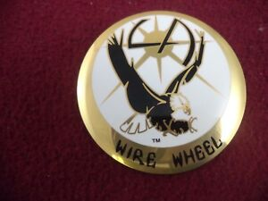 La Wire Wheels Gold White Custom Wheel Decal 1 One Decal