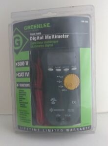 Greenlee Dm 300 True Rms Digital Multimeter 600v cat Iv