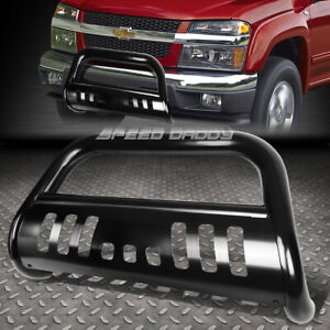 For 04 12 Chevy Colorado gmc Canyon Black 3 Bull Bar Push Bumper Grille Guard
