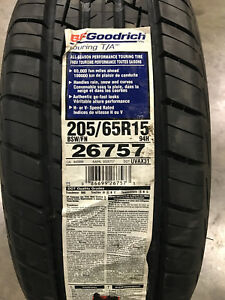 2 New 205 65 15 Bfgoodrich Touring T a Tires