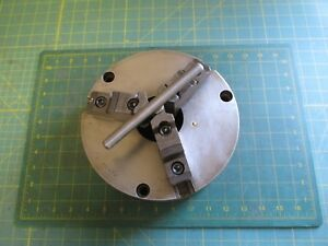 Machinist Tools Lathe Chuck 8 Inch 3 Jaw Self Centering