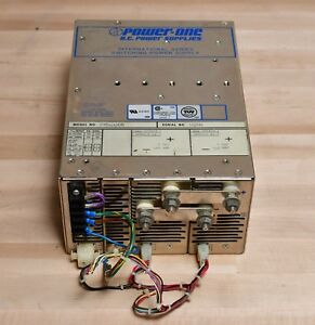 Power one Dual 5v 150a 1500w Dc Power Supply 5vdc 300a Combined 115 230vac Input