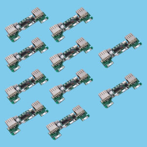 10x Solar Mobile Power Charging Board Charger Module For Camp Lamp Diy Charger