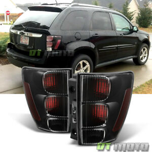Blk 2005 2009 Chevy Equinox Tail Lights Brake Lamps Replacement 05 09 Left right