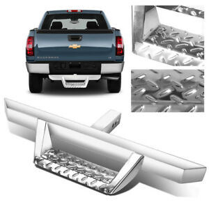 32 5 2 25 Tube Chrome Stainless Steel Hitch Step For Truck pickup 2 Receiver