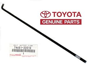 Toyota Oem Battery Hold Down Bracket Clamp Tie Bolt 7445133010