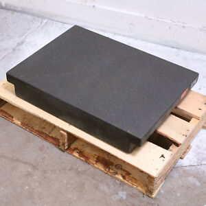 24 X 18 Black Granite Surface Plate 4 Thick