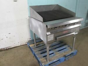 vulcan hart Hmcb34 Hd Commercial nsf 34 Nat Gas Radiant Char Broiler grill