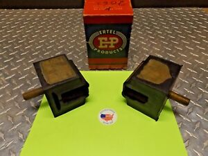 1949 Lincoln Mercury Square Front Motor Mount New Set Of 2 Made In Usa 8m 6038 A