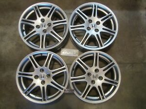 Honda Civic Hfp Factory Wheels 16 4x100 Ultra Rare Gsr Integra Si Ep3 Crx Jdm