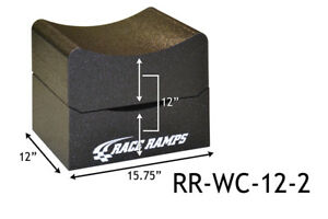 Race Ramps 12 H Wheel Cribs Lightweight Jack Stands Or Display 2 Pc Rr Wc 12 2