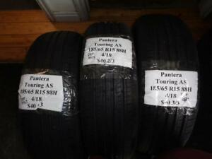 3 Brand New Pantera Touring As 185 65 15 88h Tires Wo Label 107727 Q8