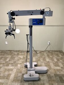 Carl Zeiss Opmi 111 Microscope On Zeiss S21 Stand