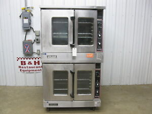 Garland Master 200 Double Stack Deck Electric Convection Oven Mco es 10e