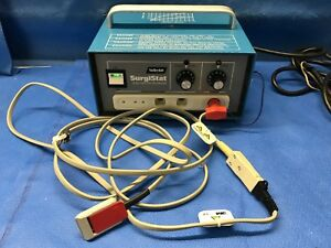 Valleylab Surgistat B Esu Electrosurgical Unit With 3m Adapter And Cable