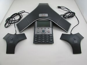 Cisco Cp 7937g 7937 Unified Ip Conference Station Lcd Wired Voip Phone 2x Mics