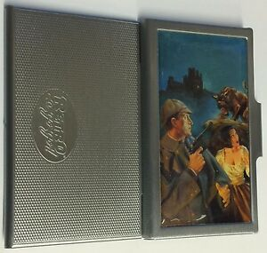 Hound Of Baskervilles Business Card Case Sherlock Holmes Signed Thomas Gianni