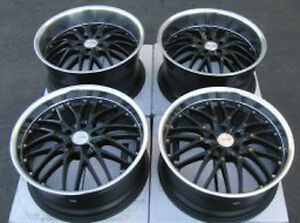 19 Mrr Gt1 Wheels For Nissan 350z 370z Altima Maxima Camry Staggered rims Set
