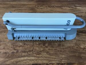 Ibico Eb 19 Manual Punch Binding Machine For Plastic Comb And Wire Spiral