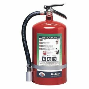 Fire Extinguisher 1a 10b c Halotron 11 Lb Badger 11hb
