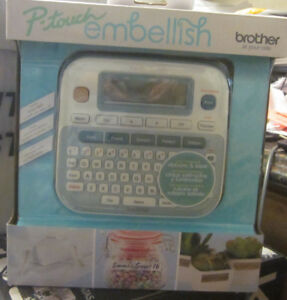 P touch Embellish Label Maker