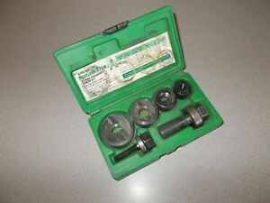 Greenlee Tools Slug Buster 7235bb Knockout Punch Set Pre Owned 1 2 1 1 4