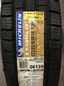 1 New Lt 235 85 16 Lre 10 Ply Michelin X Radial Lt2 Tire