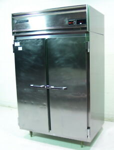 Used Victory Rsa 2d s7 46 5 Cuft Stainless 2 Door Reach In Cooler Refrigerator