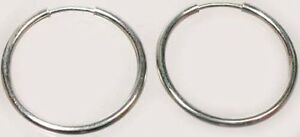 Quality Usa Sterling 17mm Endless Hoops Ancient Roman Coins Army Propaganda News